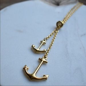 Jewelry - Anchor Lariet Necklace